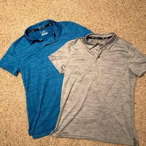 EUC TEK GEAR DRYTEK Youth Boys Polo Shirt